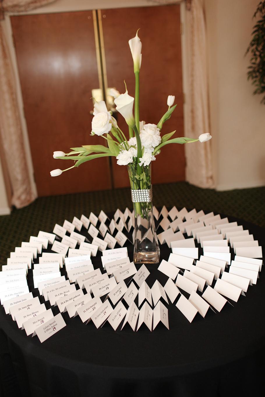 Wedding Wednesday | Black and White. Rocked All Night.