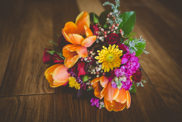 Wedding Wednesday  | Cornucopia of Color