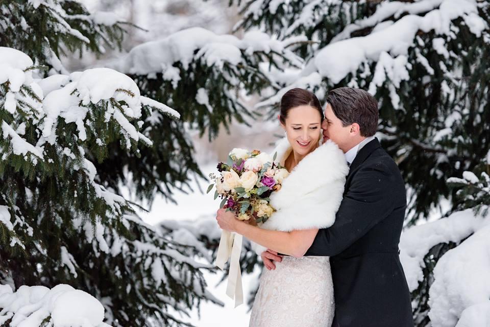 Wedding Wednesday   Winter Wonder